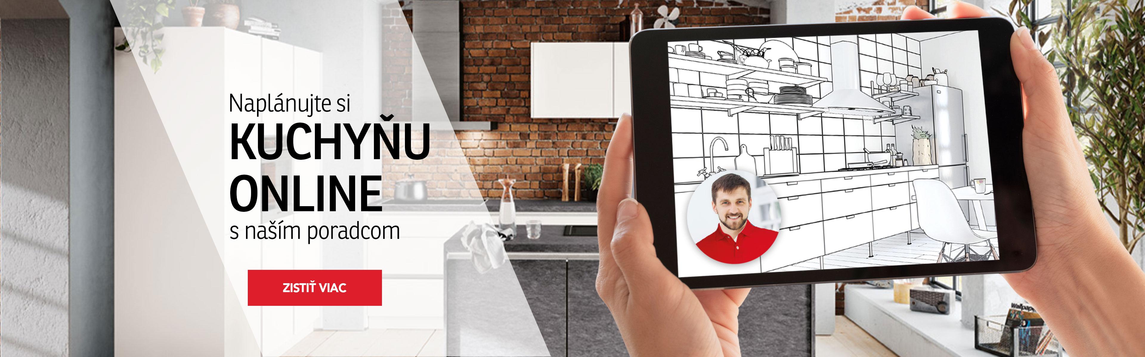 Kuchyně online plánování 2021