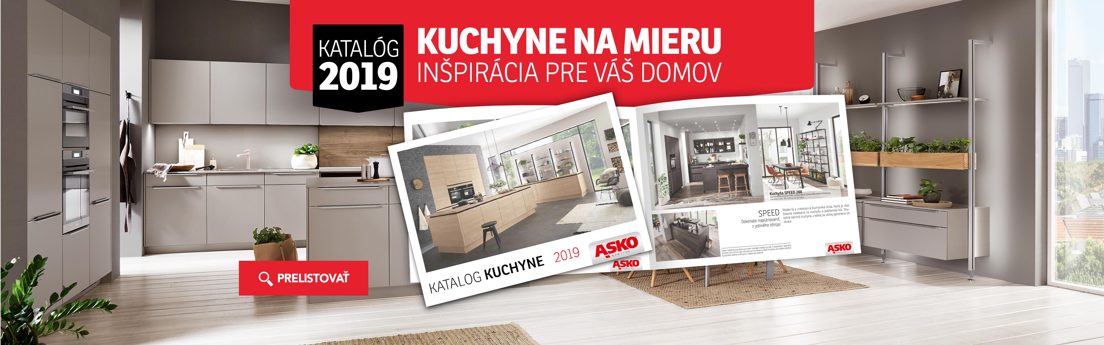 KUCHYNE - Katalog Kuchyně 2019