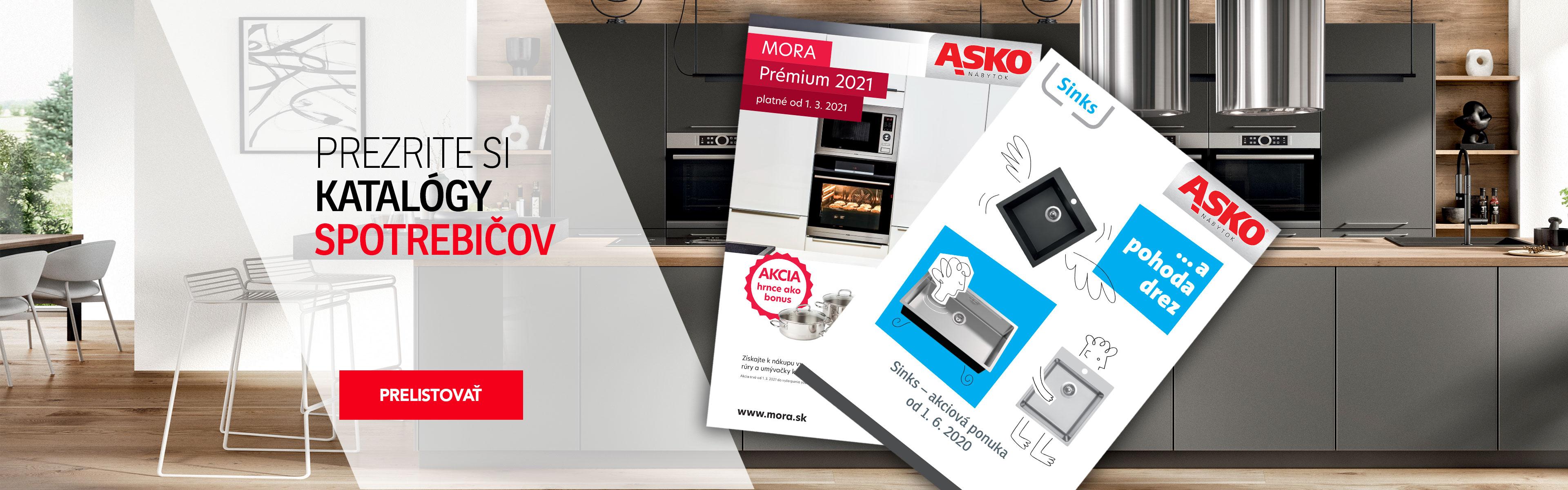 Kuchyně katalogy spotřebičů 2021